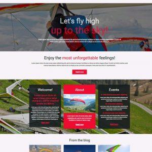 Outdoor sport web