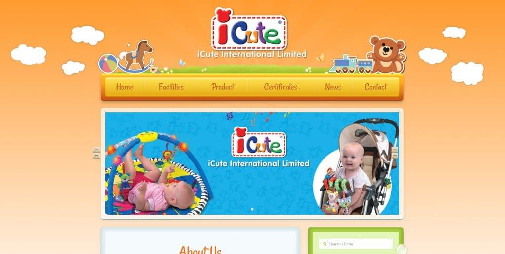 玩具網站設計