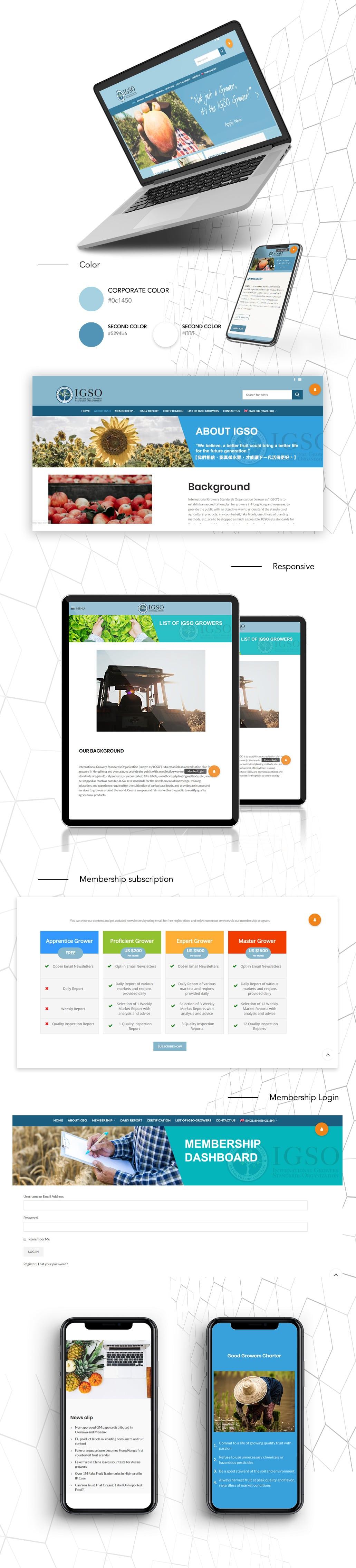 香港企業網頁