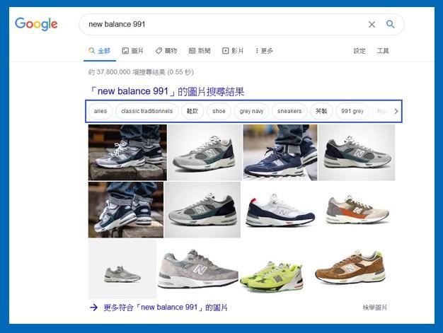 Google購物標籤